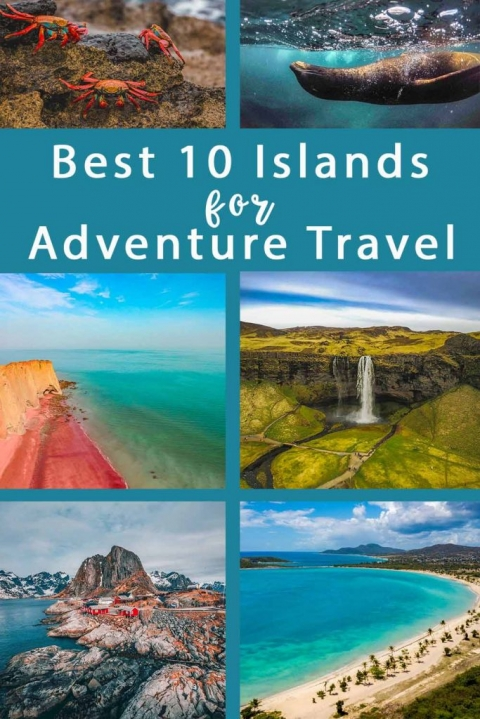 Best 10 Islands for Adventure Holidays & Travel. If you're looking for adventurous travels, read this post on islands around the world that promote off the beaten track travel.