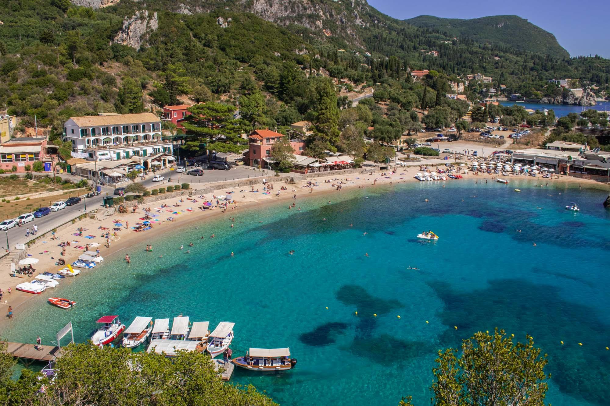 Corfu. Greek Party Islands