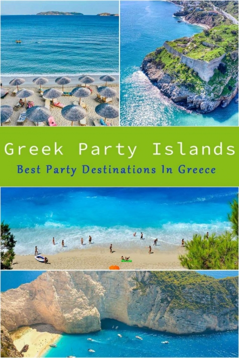 Greek party Islands. Best Party Destinations In Greece