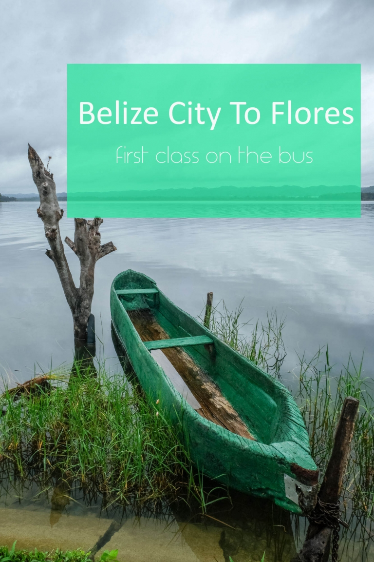 Everything you need to know about catching the bus from Belize City to Flores (with kids and without).
