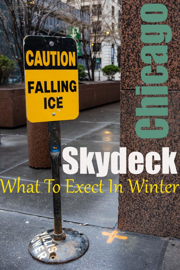 What is it like visiting the Skydeck in winter? What will you see?