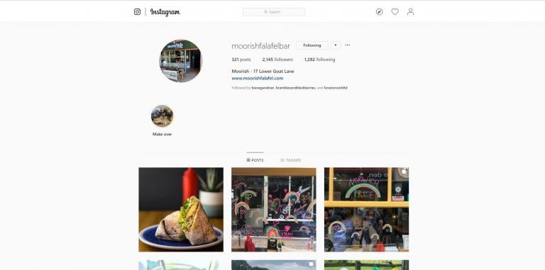 Moorish falafel