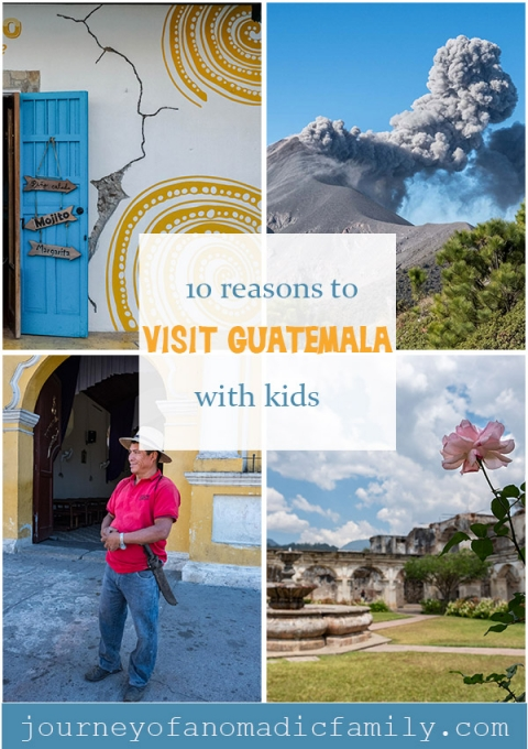 10 reasons why you visit Guatemala with kids.