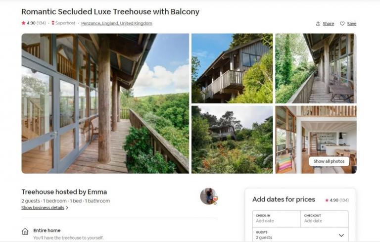 Airbnb Corwall