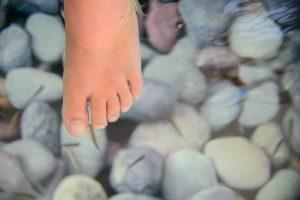Oh no. We made a BIG MISTAKE. Fishy feet on Corfu