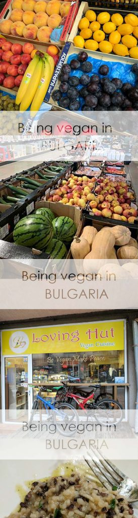 Being vegan in Bulgaria was a challenge but it wasn't impossible.