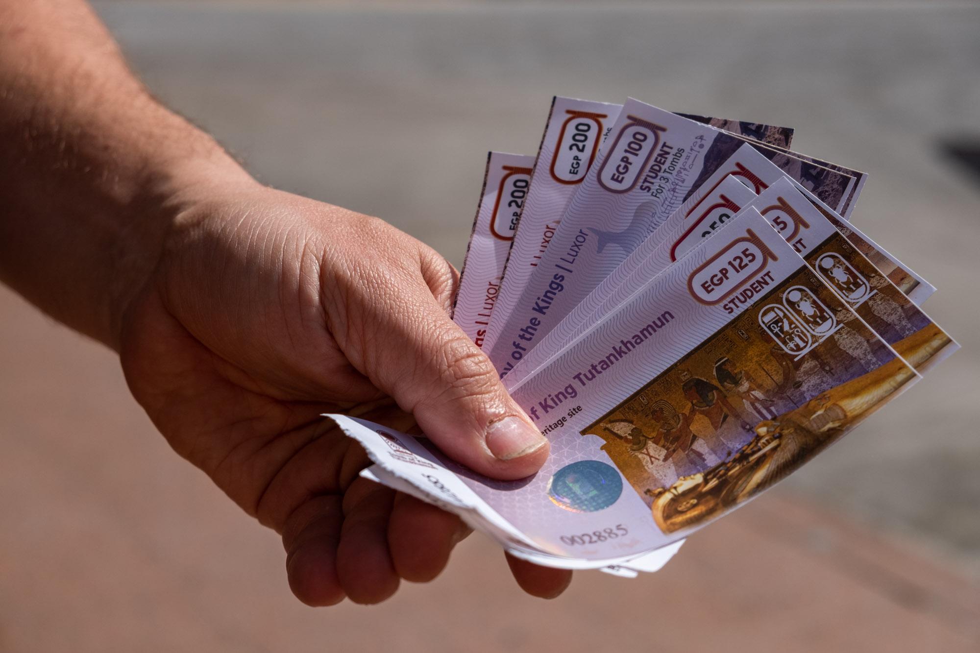 train tickets in Egypt
