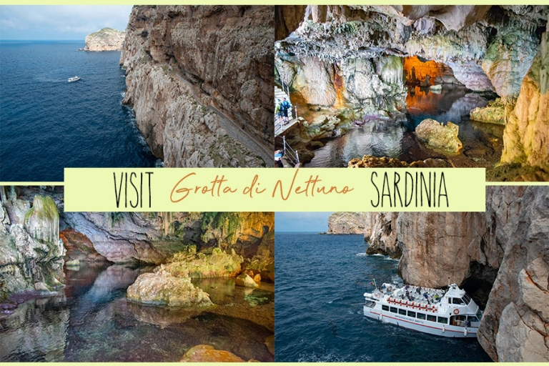 Visit Neptune's cave in Sardinia; the biggest and most famous!