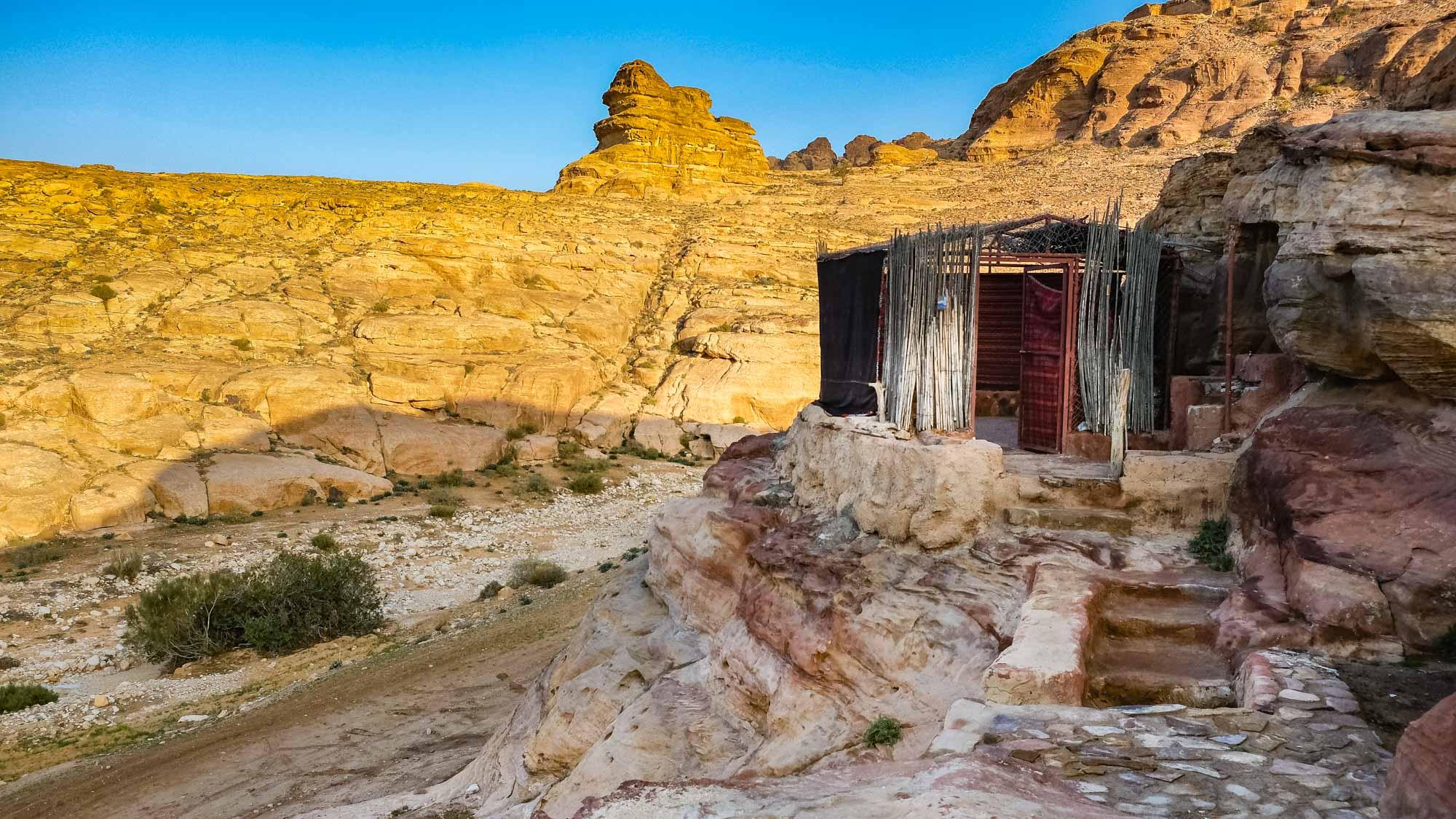 bedouin cave
