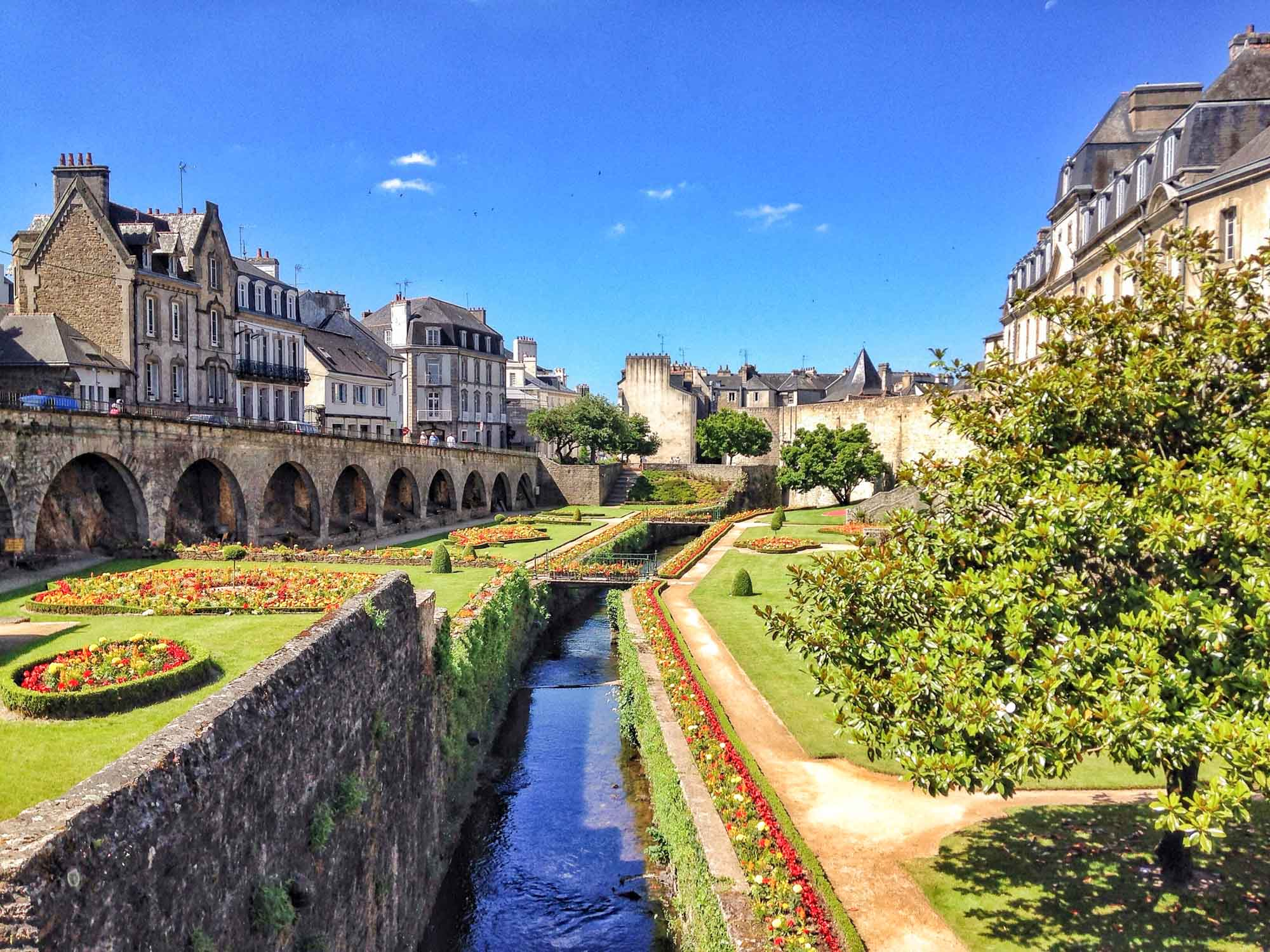 Vannes. Most beautiful cities in France