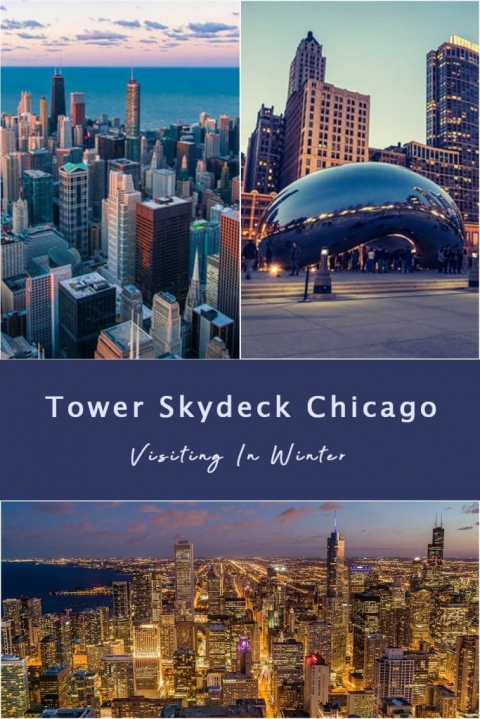 Tower Skydeck Chicago & Visiting in Winter.