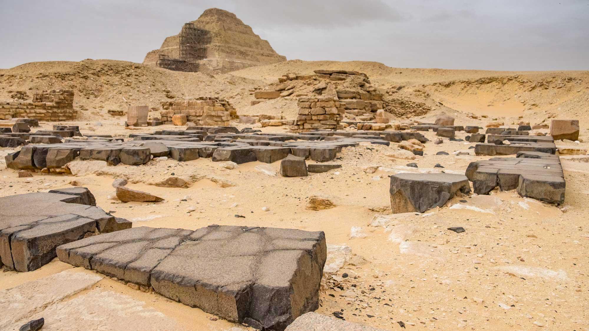 Saqqara Temples