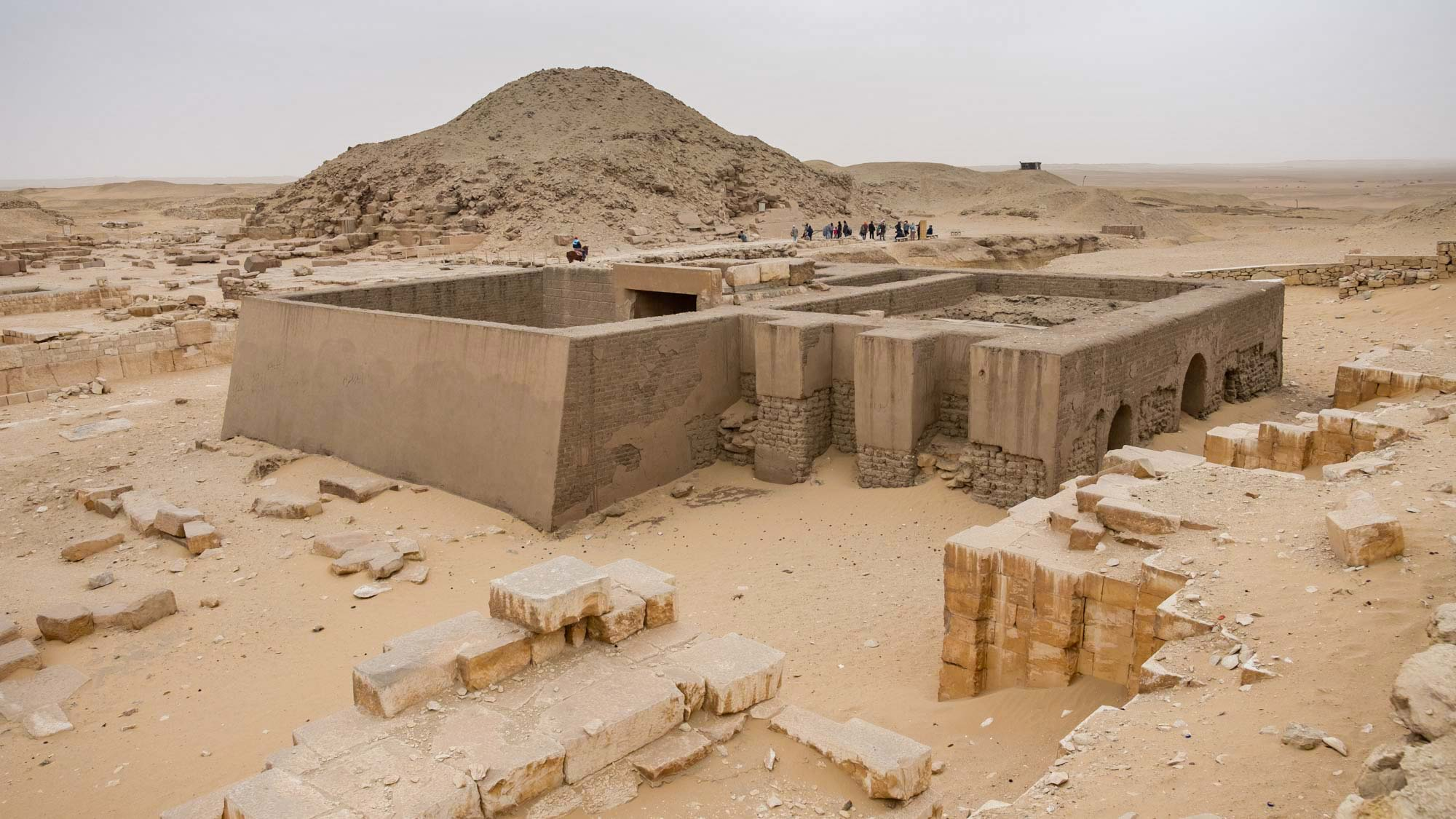Saqqara Temple Site