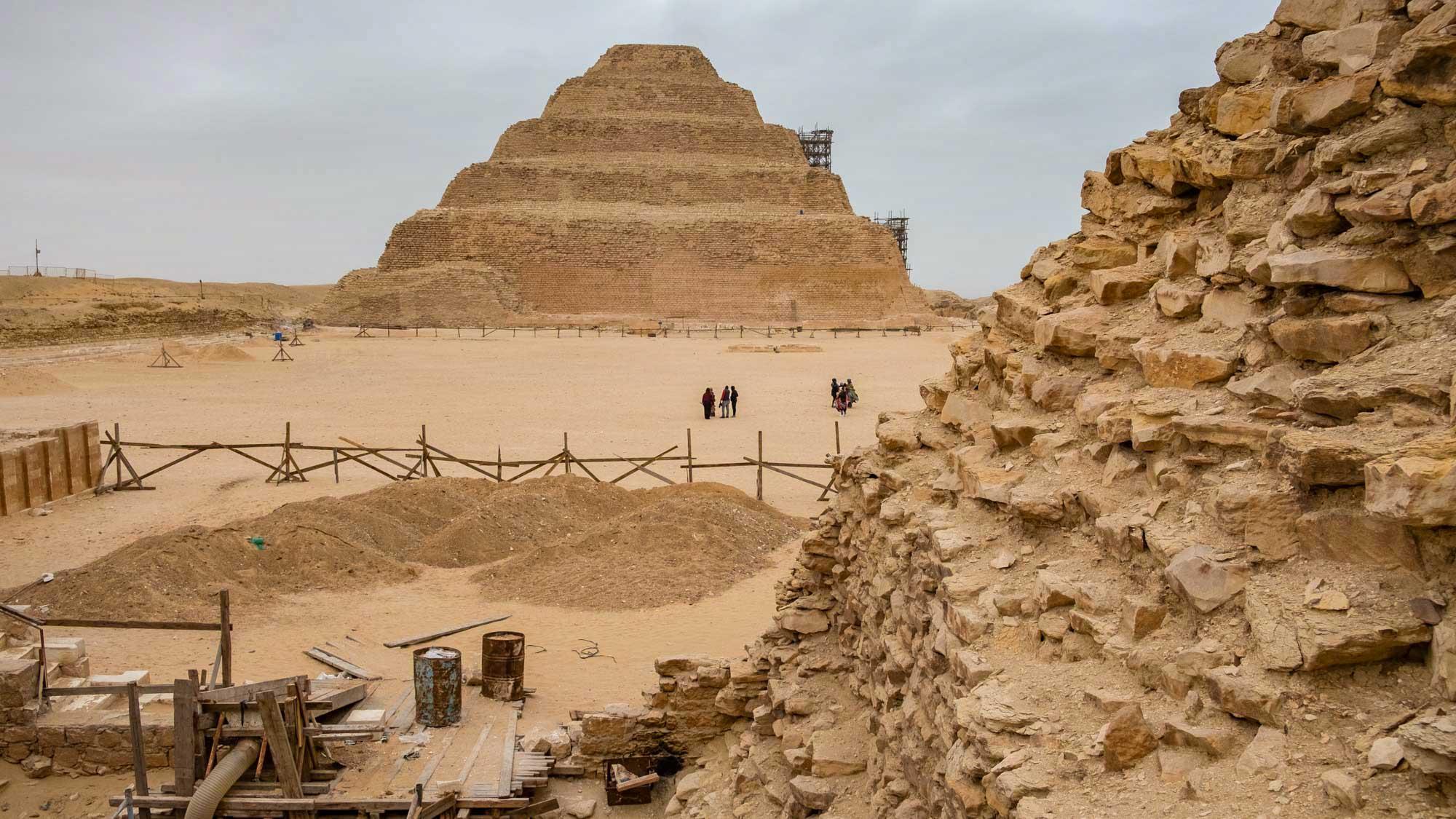 Saqqara Pyramid Egypt