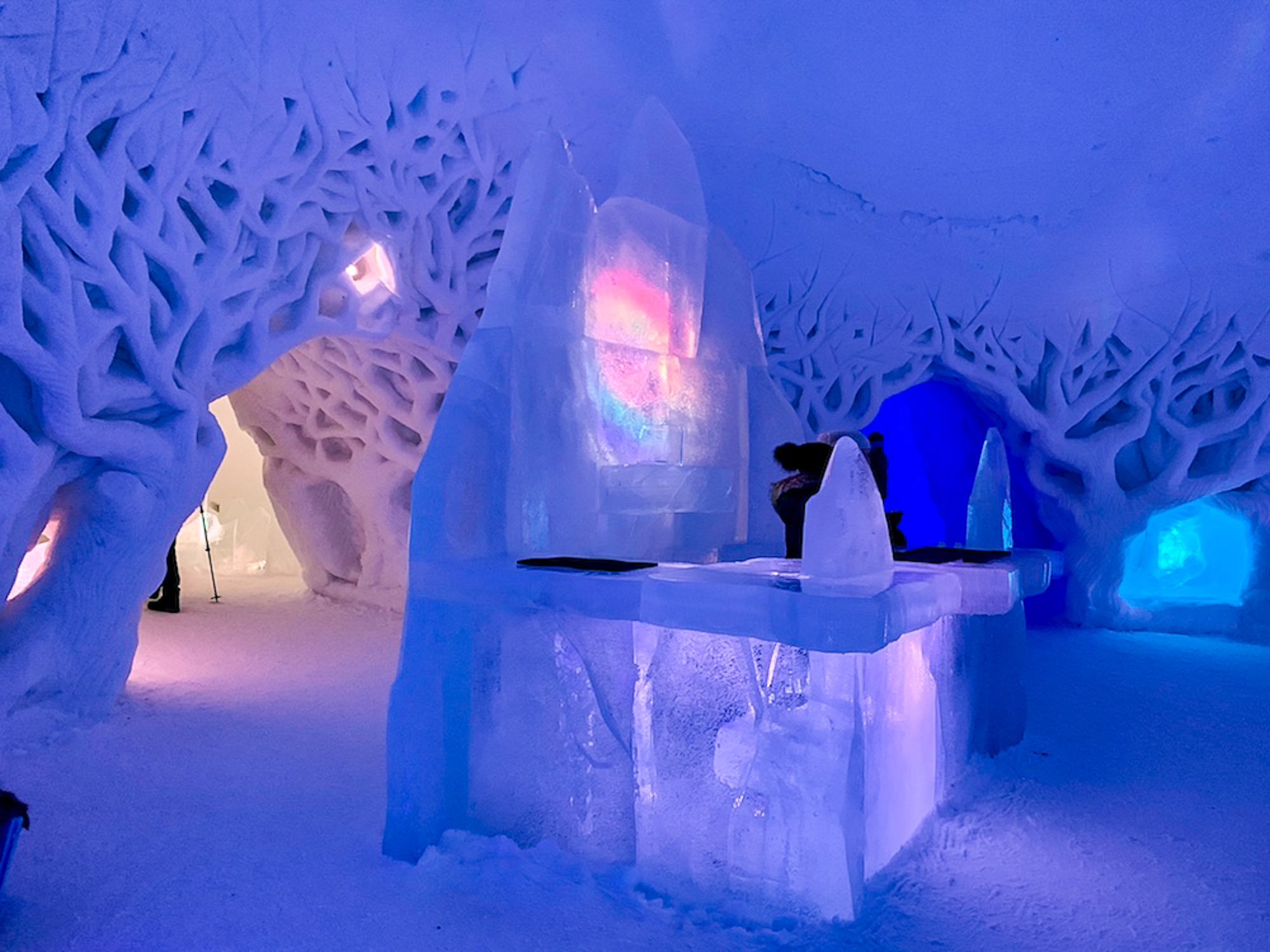 Tromso Ice Domes, family friendly ice hotels