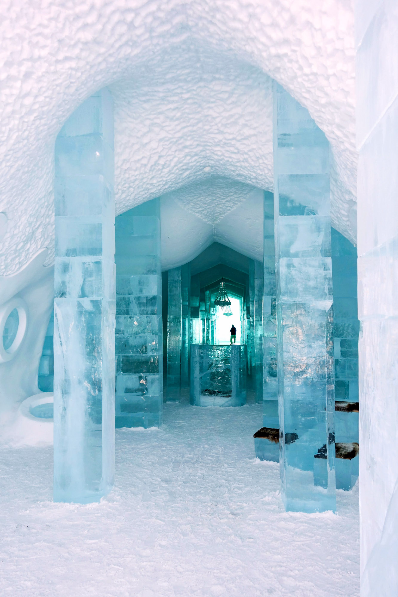 family friendly ice hotels