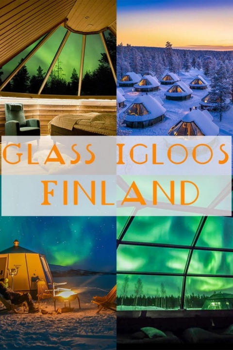 Glass Igloos in Finland that area perfect for kids, families & couples in both winter & summer.