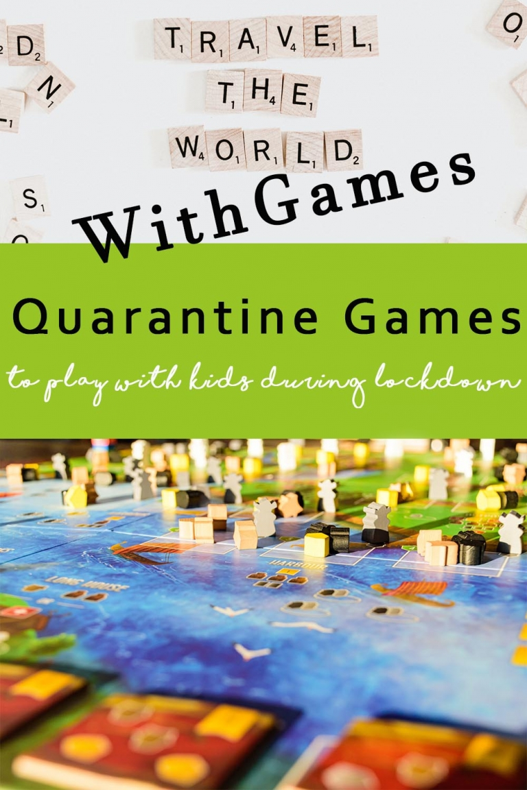 Quarantine games to play with your kids during lockdown