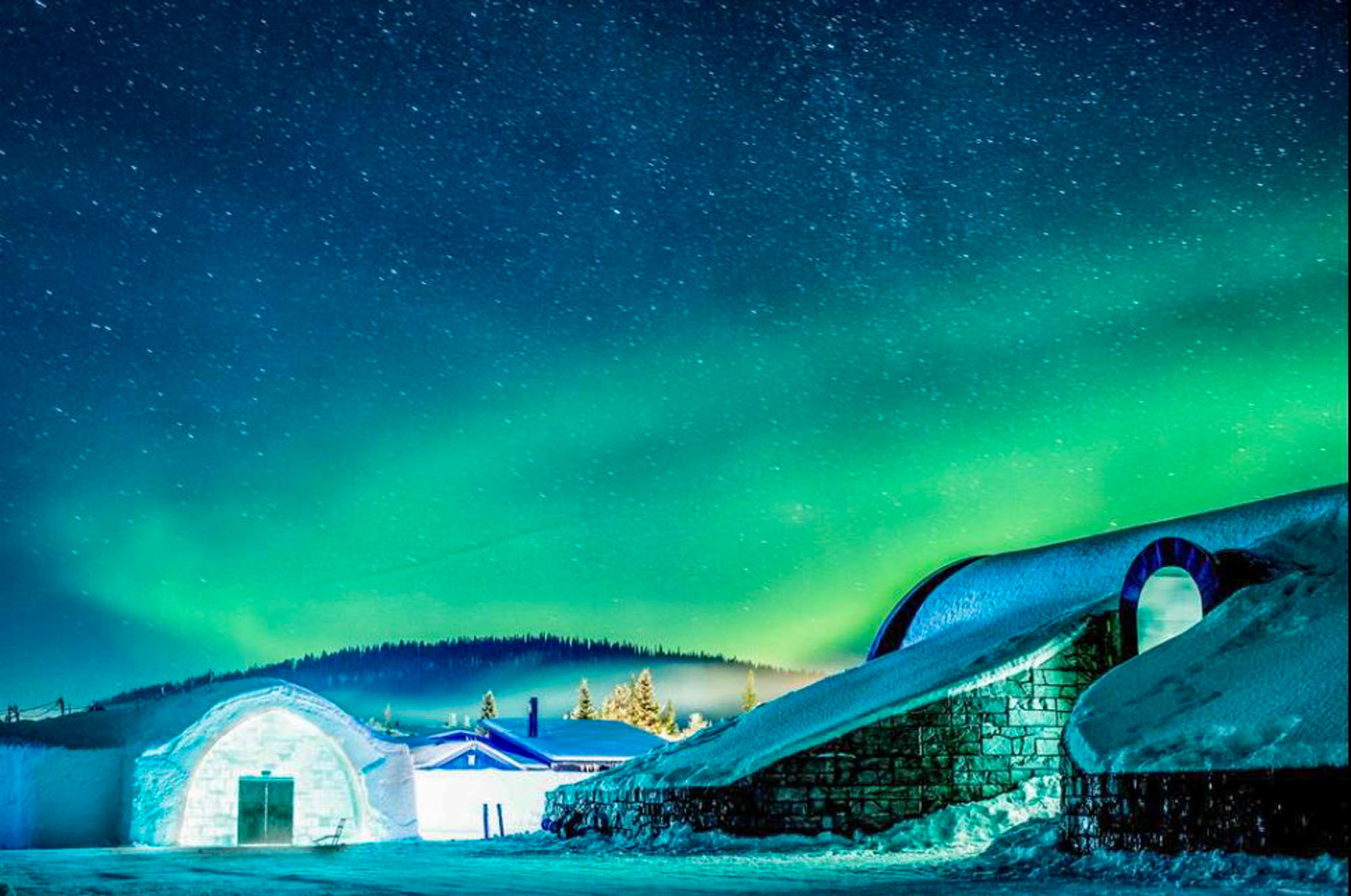 family-friendly ice hotels