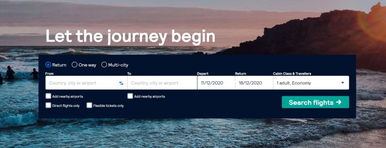 Skyscanner fly to Scotland