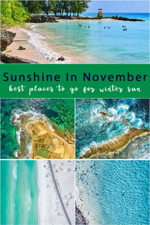 Sunshine in November. Best places to go for winter sun.