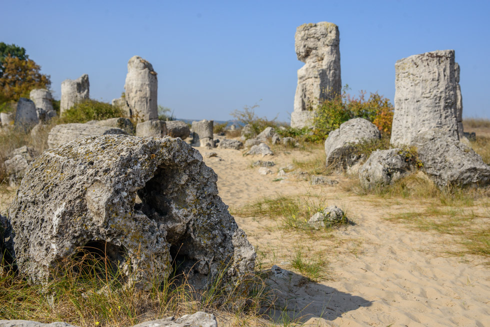 Bulgaria's Answer to The Pinnacles; Pobiti Kamani