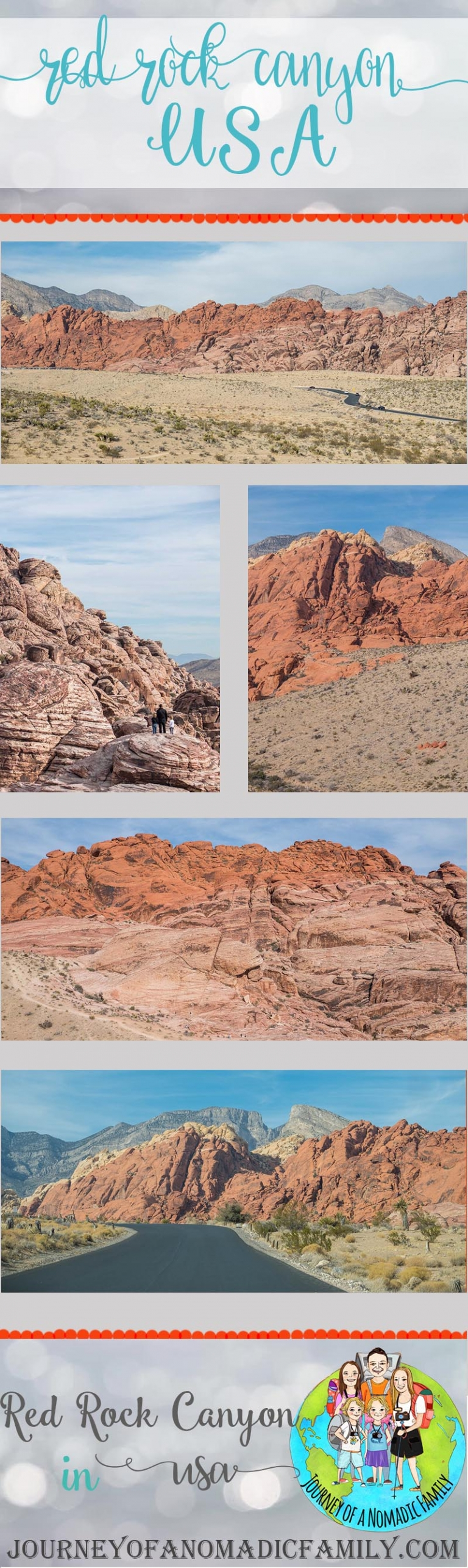 Red rock canyon with kids. 5 reasons to visit