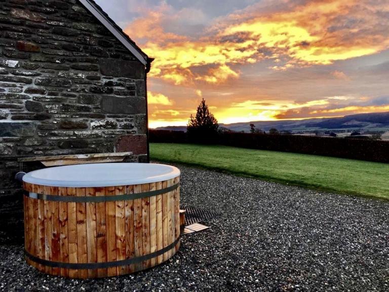 Scottish hot tub