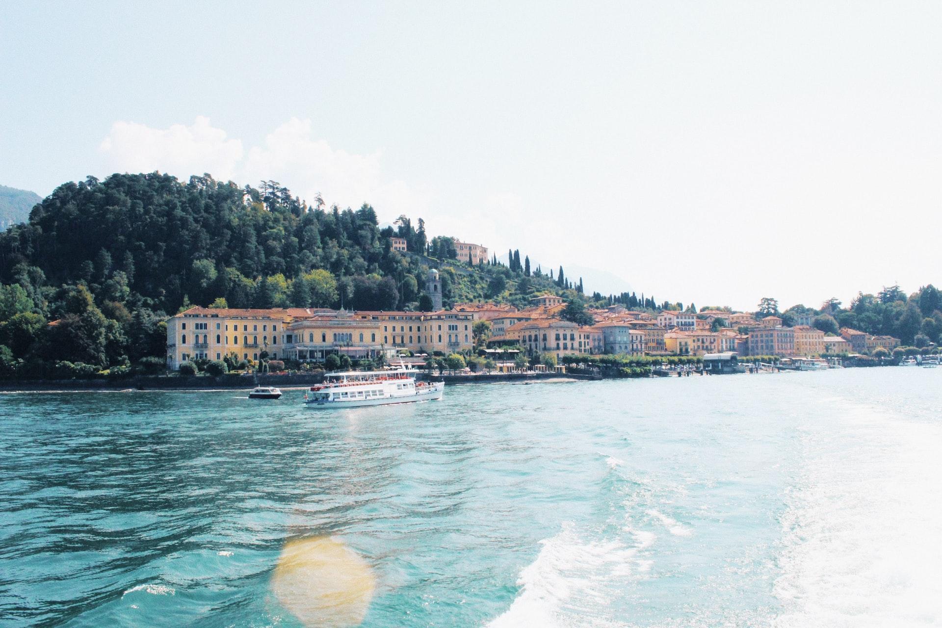 Lake Como with kids