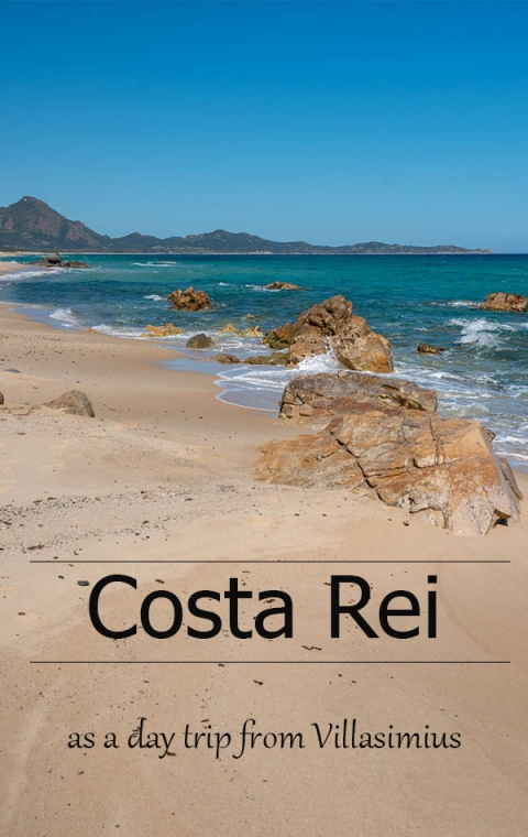 Visiting Costa Rei as a day trip from Villasimius