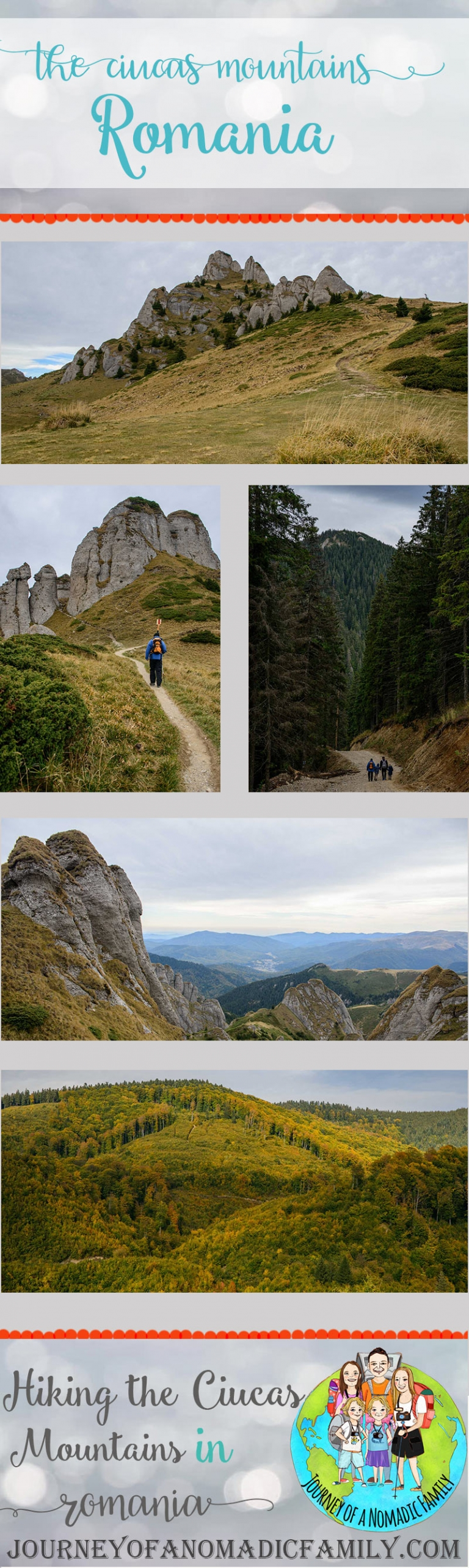 How to hike the Ciucas mountains in Romania (with kids)