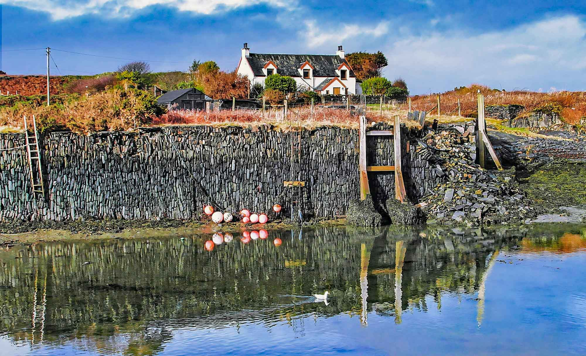 Isles Of Scotland. Easdale Island
