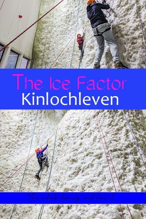 How to spend eight hours at the ice factor in Kinlochleven. It's a place the entire family will love!