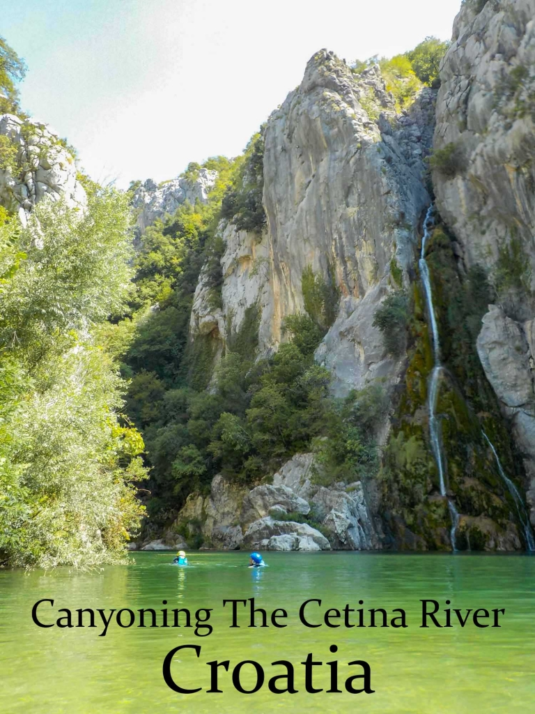 Canyoning the Cetina river in Croatia; everything you need to know
