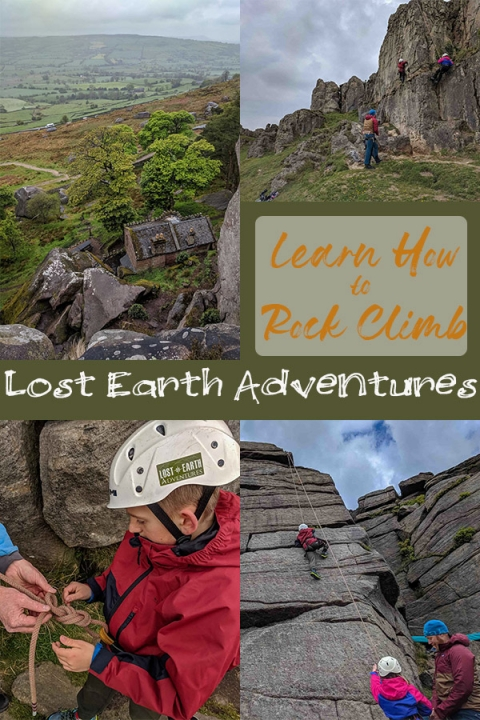 Learn how to rock climb in the UK with Lost Earth Adventures