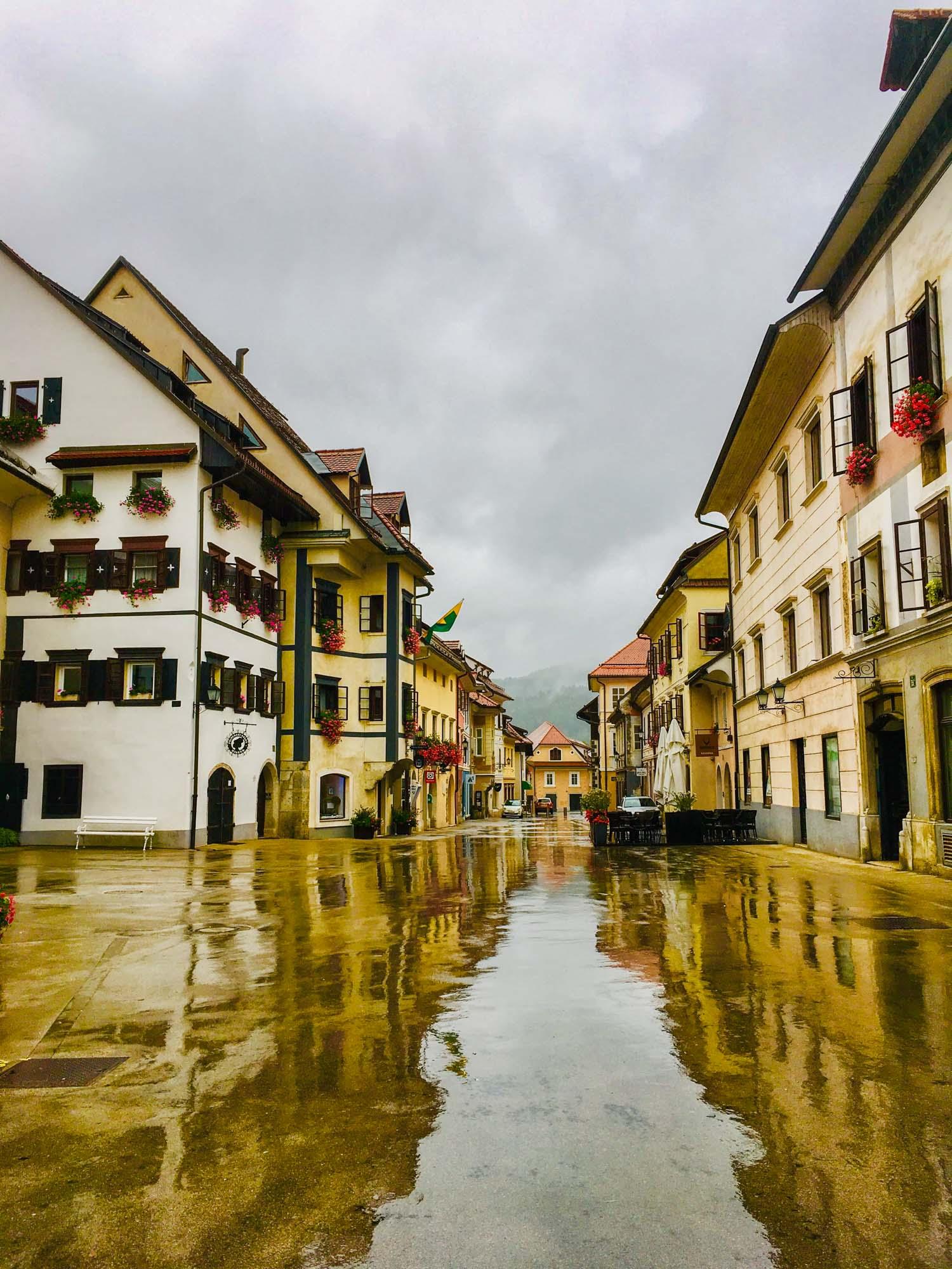 Skofja Loka. Eastern europe's most walkable cities