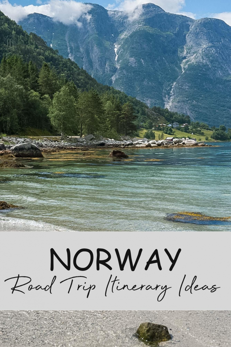 Road trip ideas for Norway.