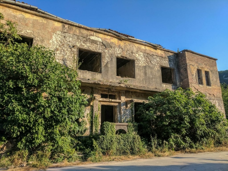 Abandonned building Montenegro