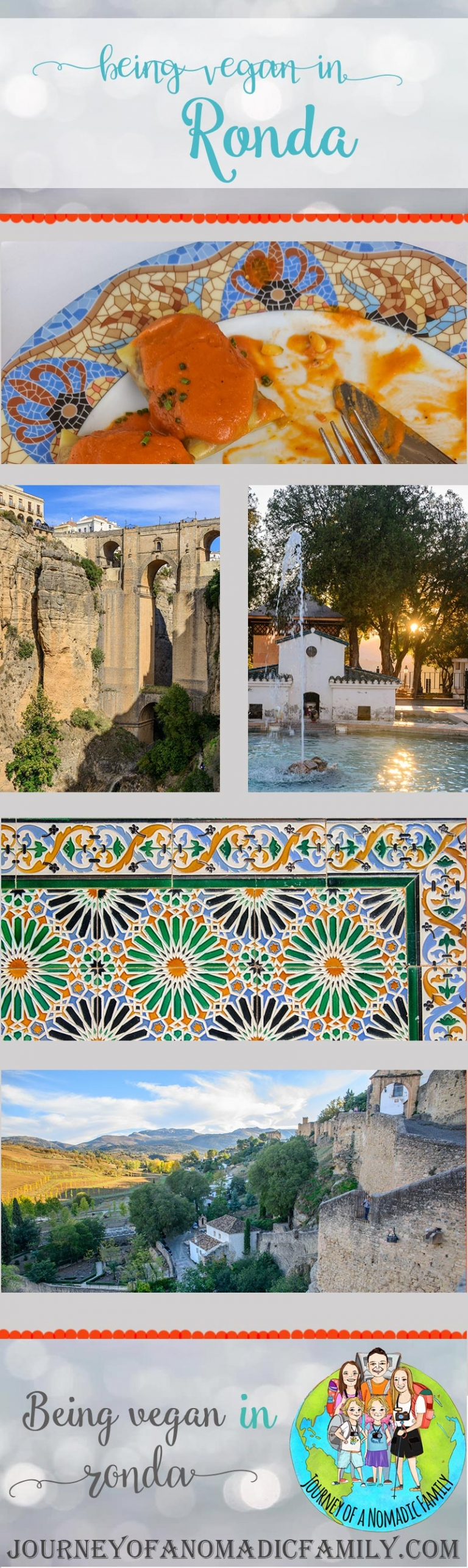 Being vegan in Ronda is certainly a challenge. There are not many places and we visited them all. See here for our recommendations.