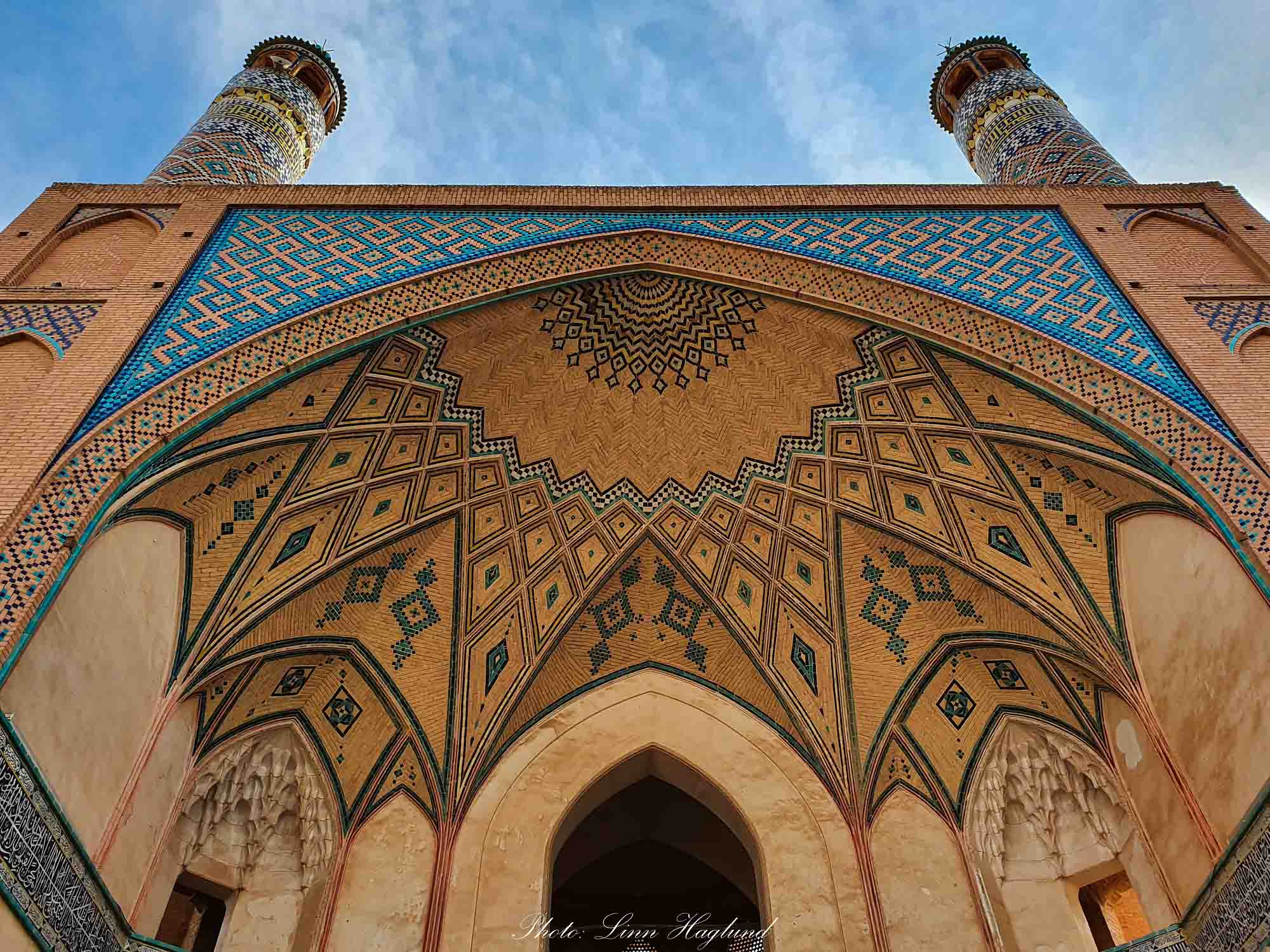 Agha Bozorg Mosque Kashan. Western & Central Asia's Most Walkable Cities