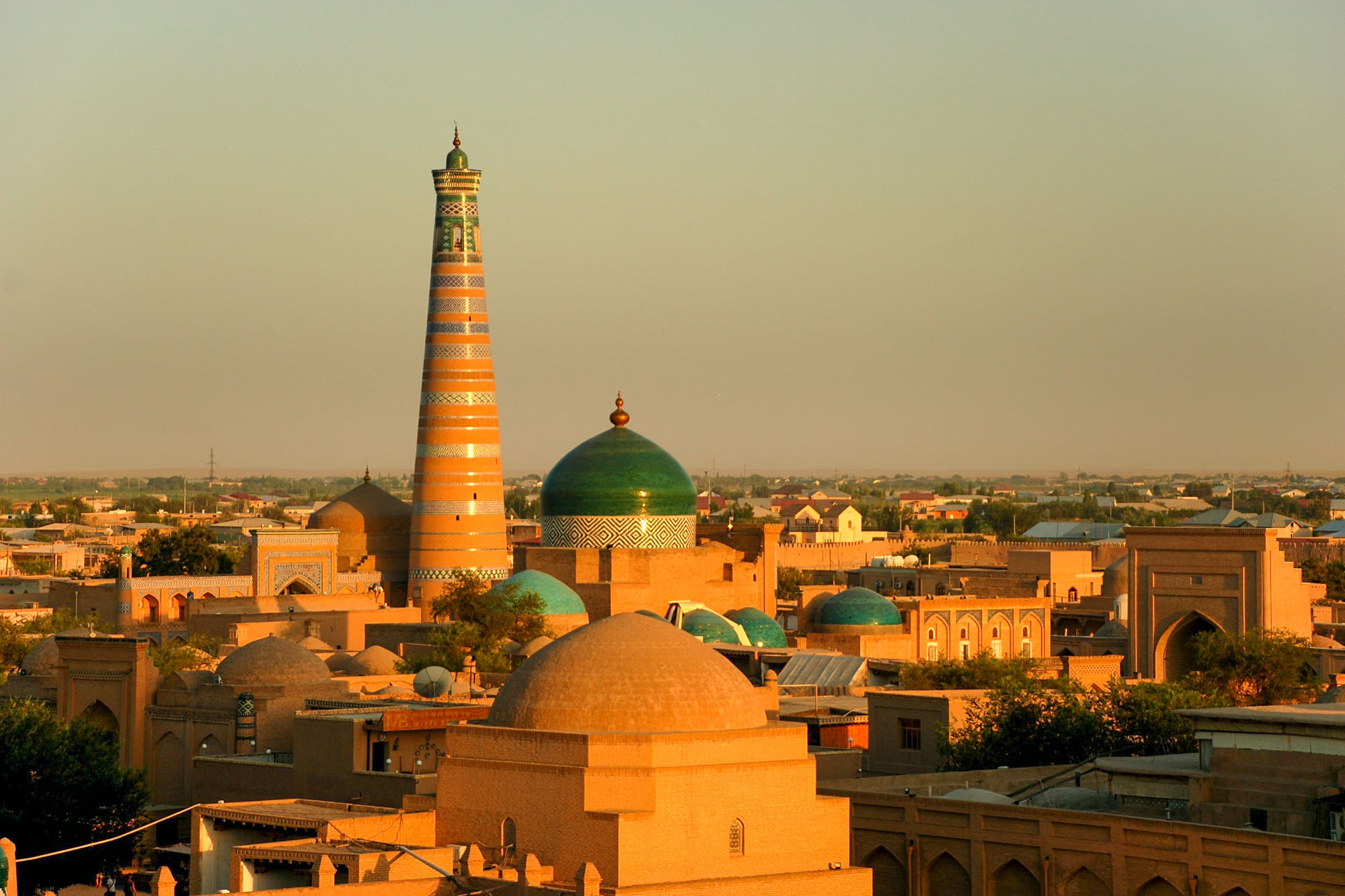 khiva. Western & Central Asia's Most Walkable Cities