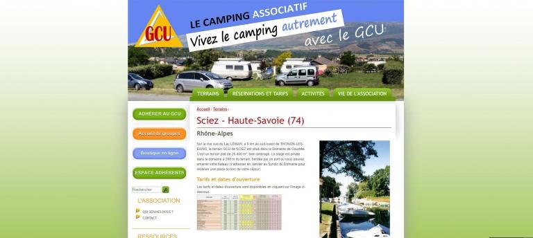 Sciez camping