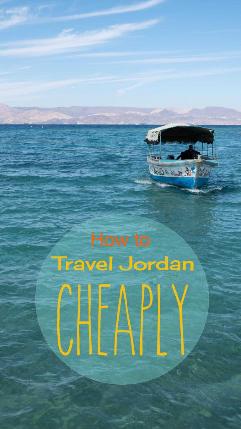 Loads of ideas on how to travel Jordan cheaply.