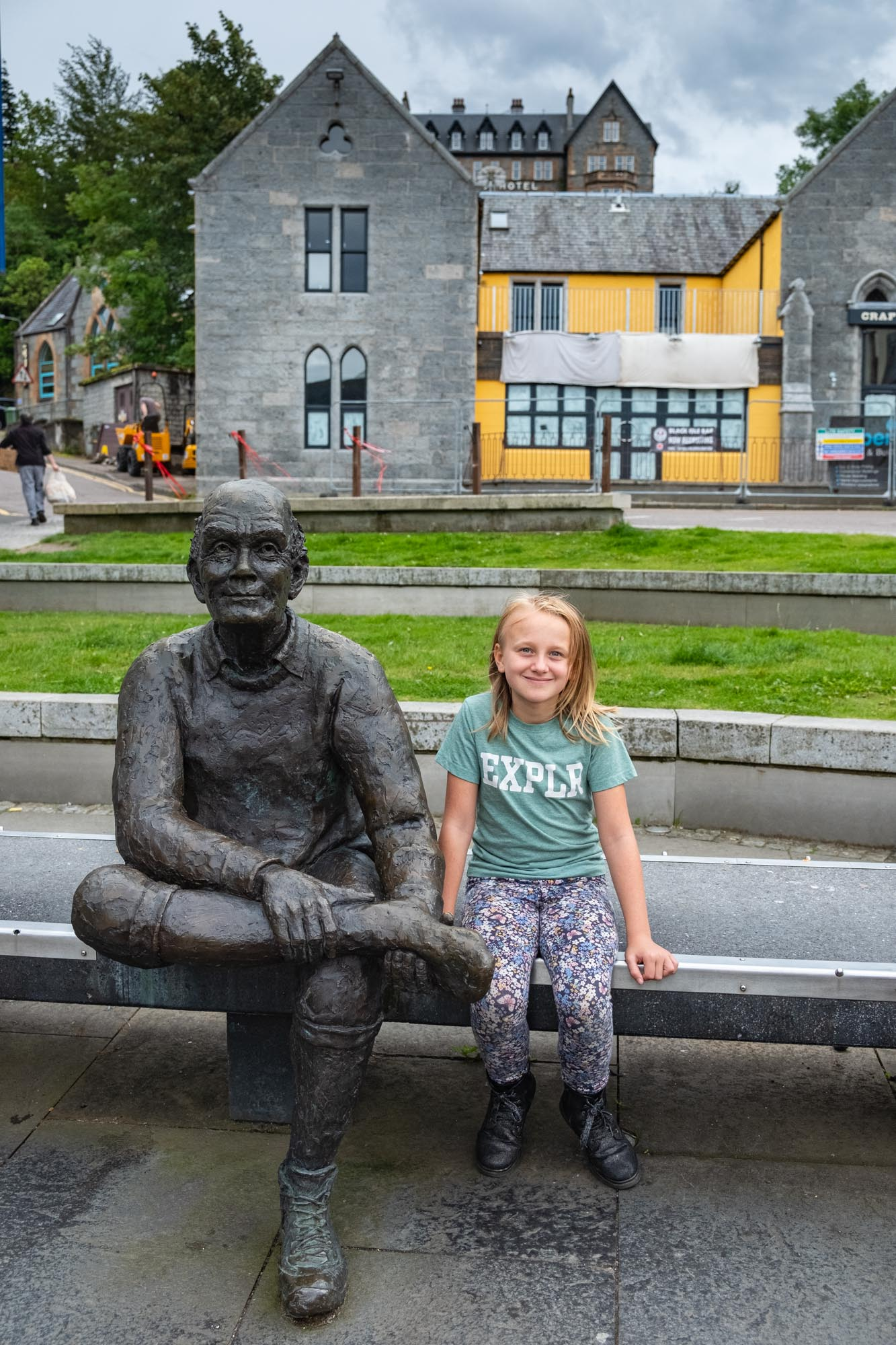 West Highland Way End Statue