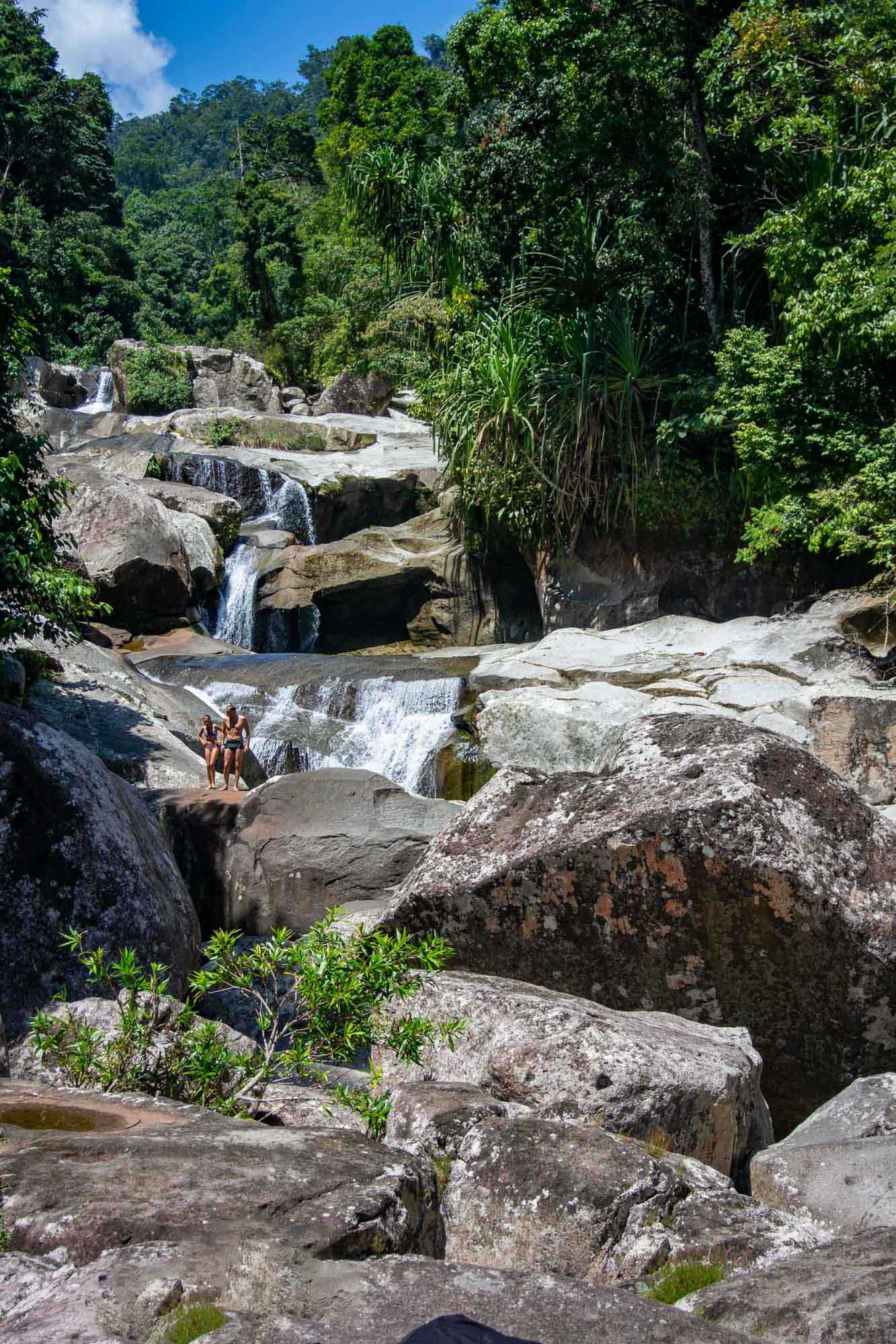 The Sungai Pinang Waterfall