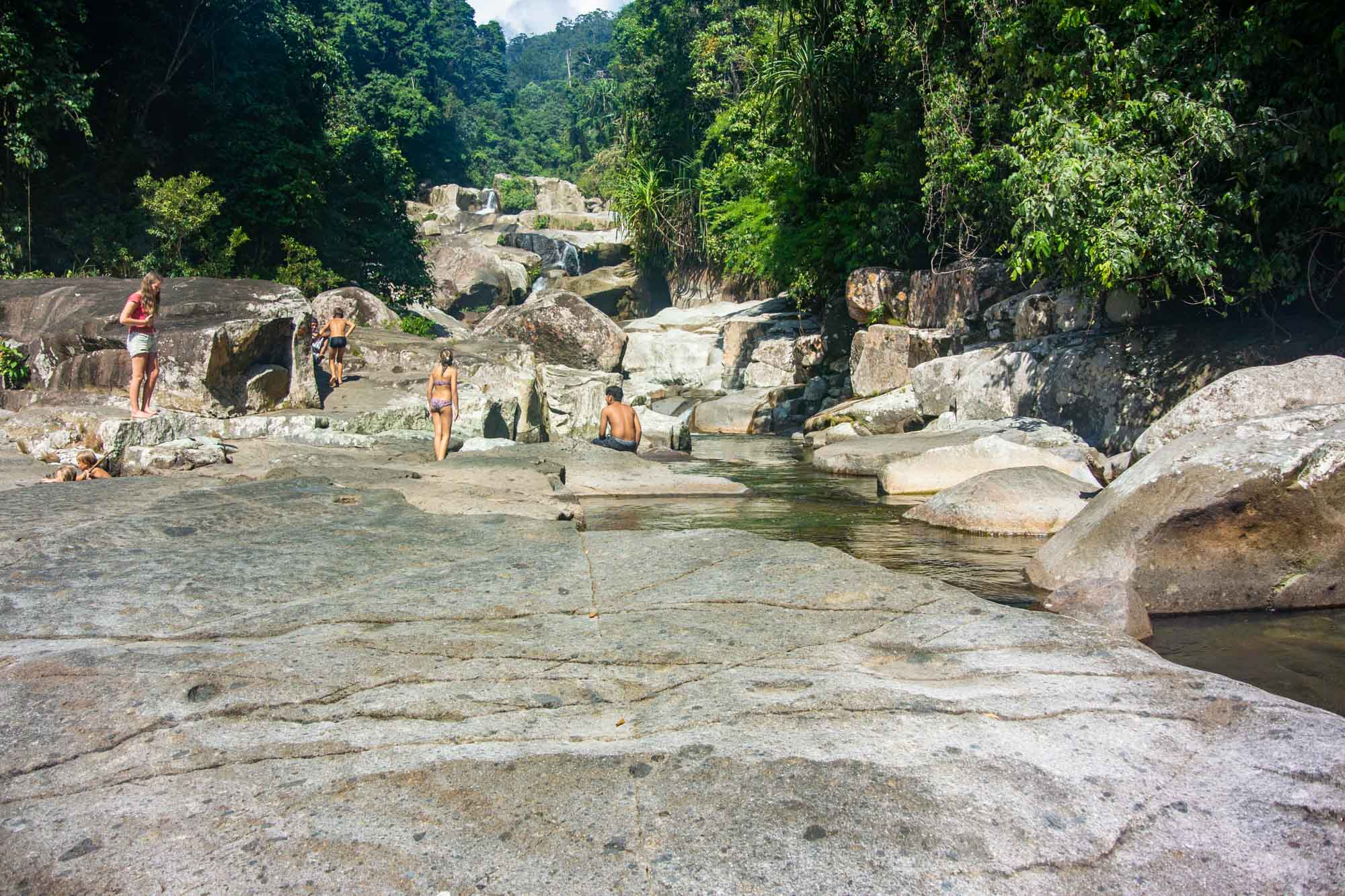 Sungai Pinang Waterfall