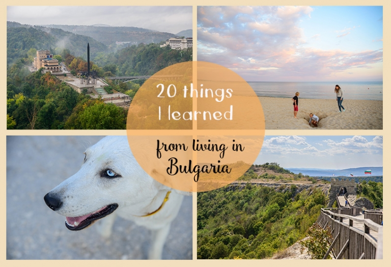 20 things that I have learned since coming to live in Bulgaria. Some of these may surprise you!