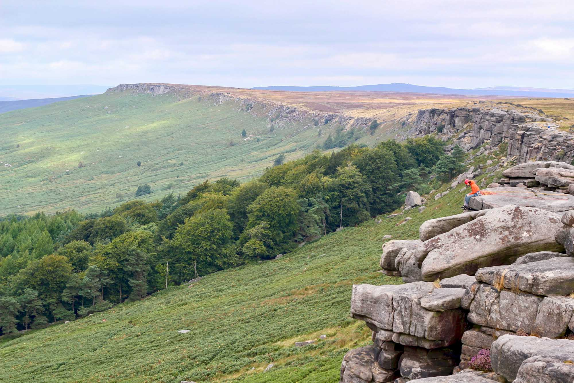 Adventurous UK Holidays Stanage Edge
