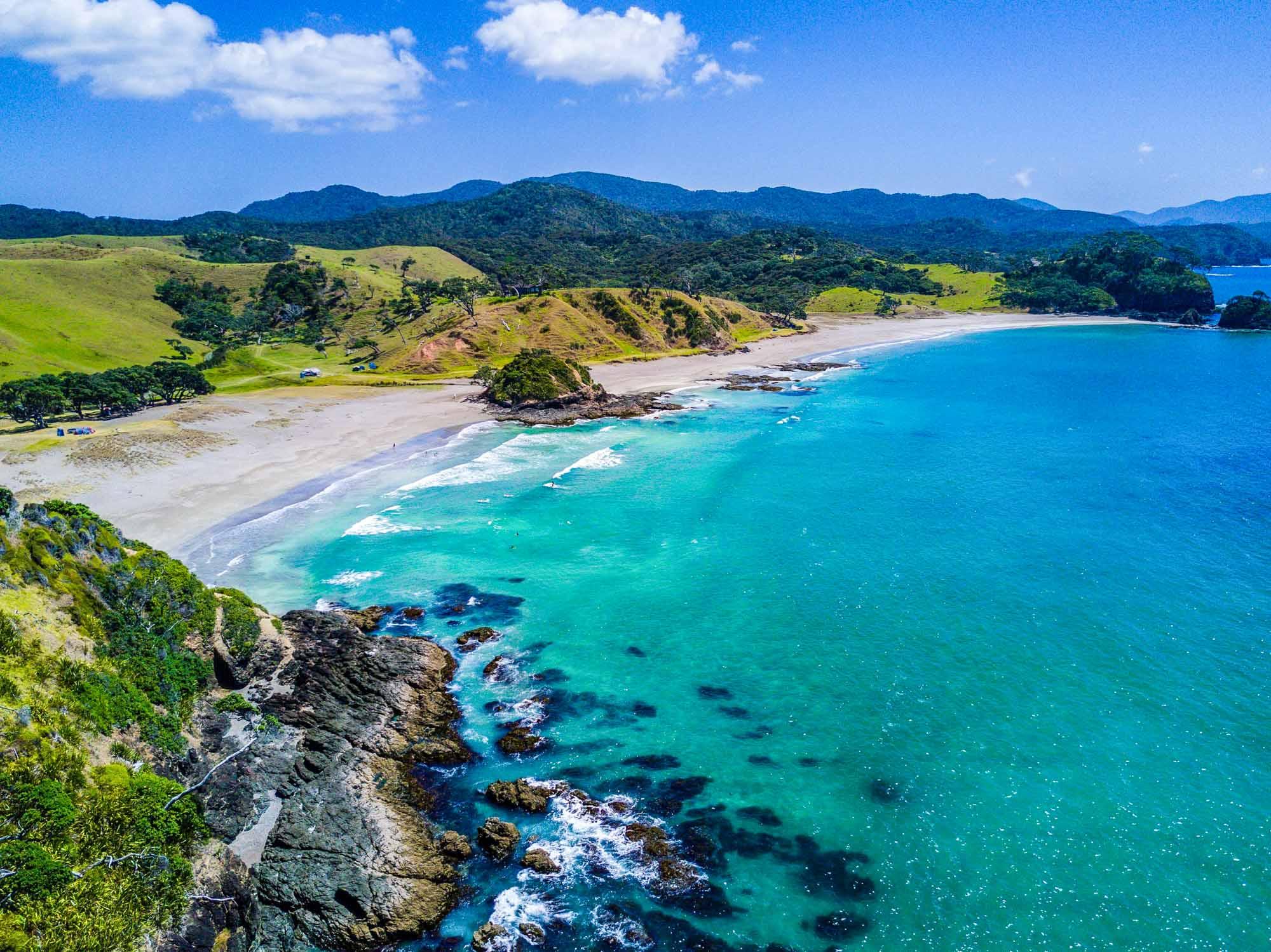 Sunshine in December: New Zealand