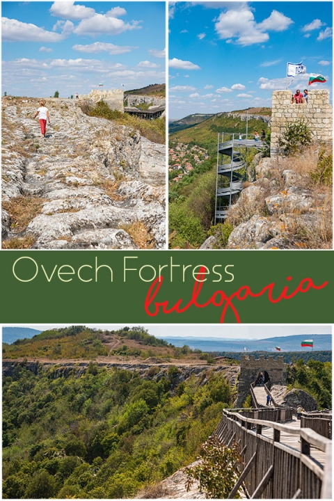 We stumbled upon Ovech Fortress near Varna by accident and it's a delightful place to take kids, high above the town of Provadia, Bulgaria.